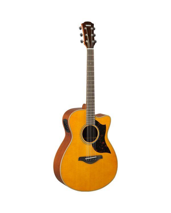 Yamaha AC1M MK2 Concert Mahogany Electro Acoustic, Vintage Natural