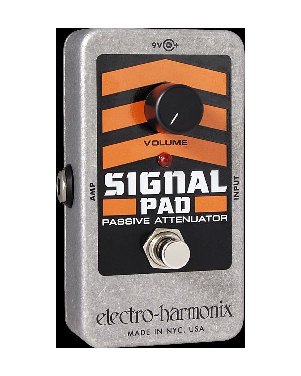 Electro Harmonix Signal Pad Guitar Effects Pedal, Passive Attenuator