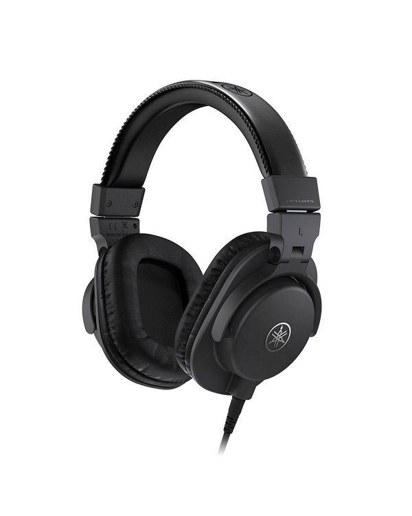 Yamaha HPH-MT5 Studio Headphones, Black