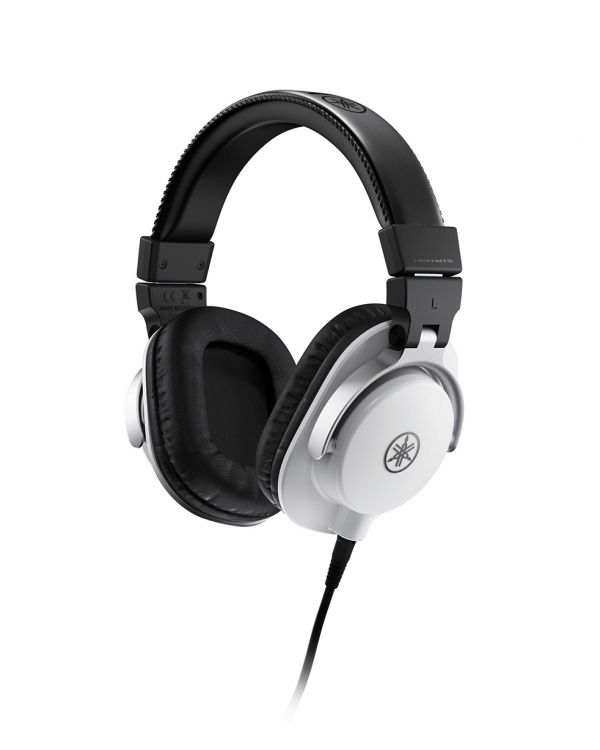 Yamaha HPH-MT5 Studio Headphones, White