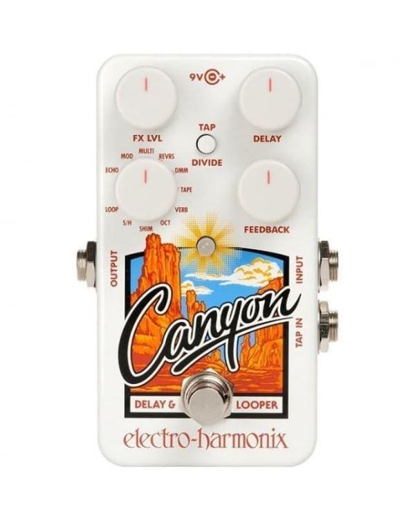 Electro Harmonix Canyon Delay and Looper Pedal