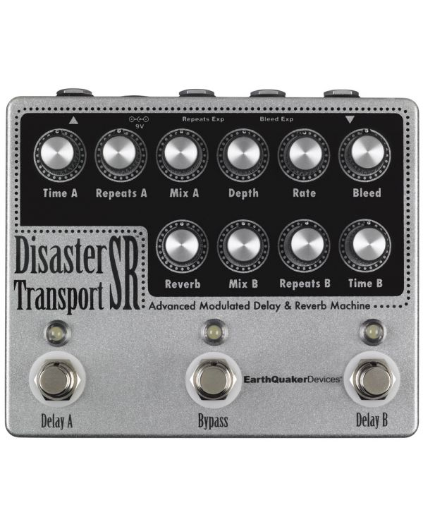 EarthQuaker Devices Disaster Transport SR Modulation Delay Pedal
