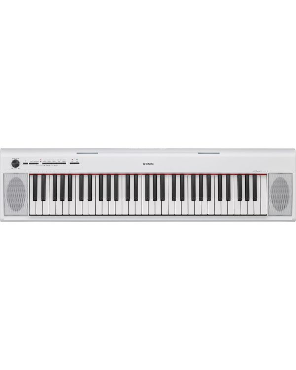 Yamaha Piaggero NP12 Portable Digital Piano, White