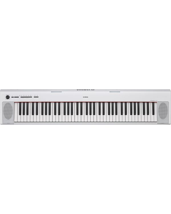 Yamaha Piaggero NP32 Portable Digital Piano, White