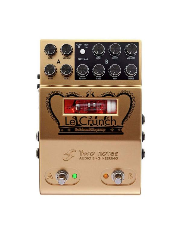Two Notes Le Crunch Dual Channel MIDI Tube Preamp