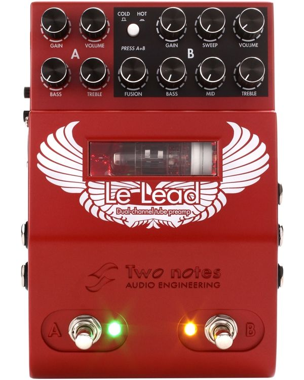 Two Notes Le Lead Dual Channel MIDI Tube Preamp