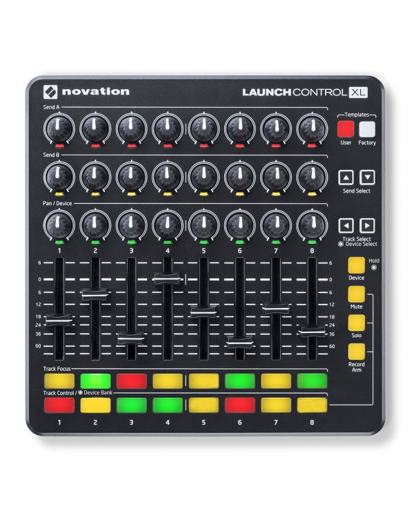 Novation Launch Control XL MKII, Black