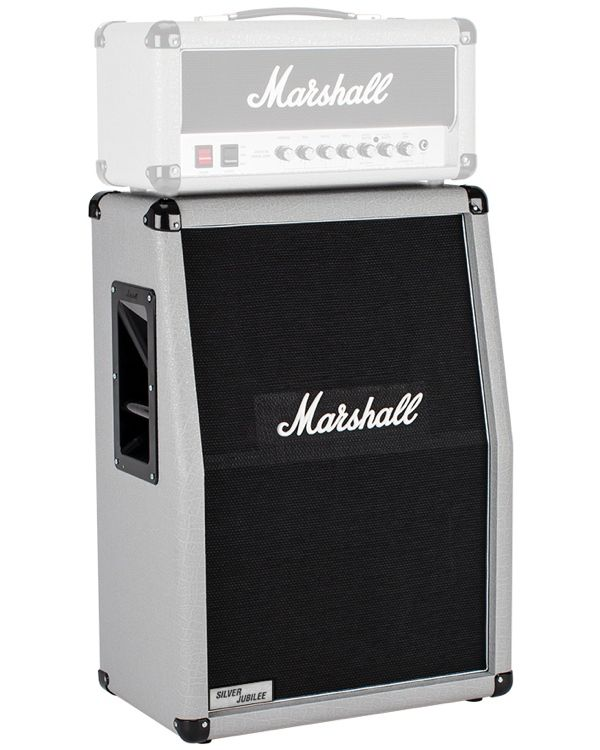 Marshall 2536A Silver Jubilee Vertical 2x12 Stereo Speaker Cab