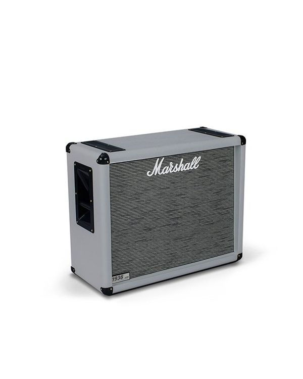 Marshall 1936V 2x12 Extension Cabinet, Silver Elephant Grain