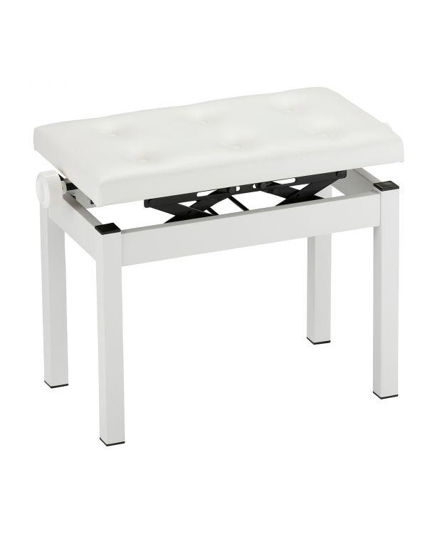 KORG PC-770 Piano Bench in White Finish