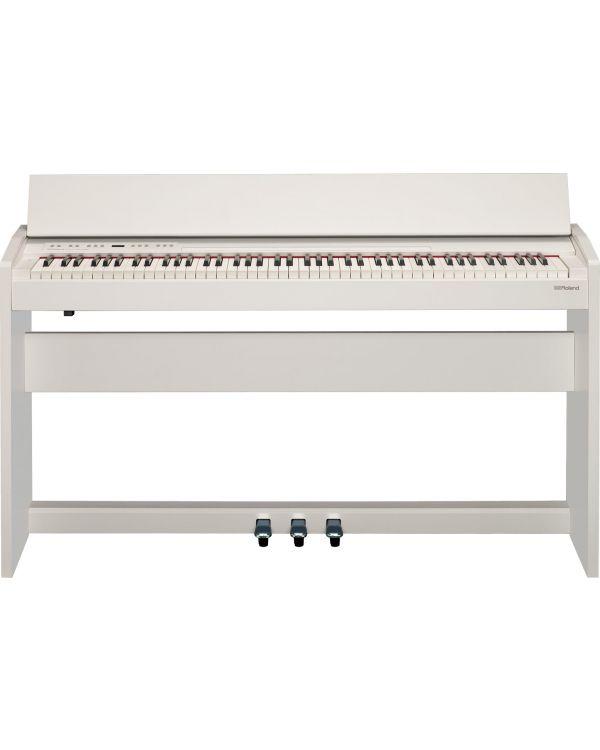 Roland F140R Digital Home Piano in White