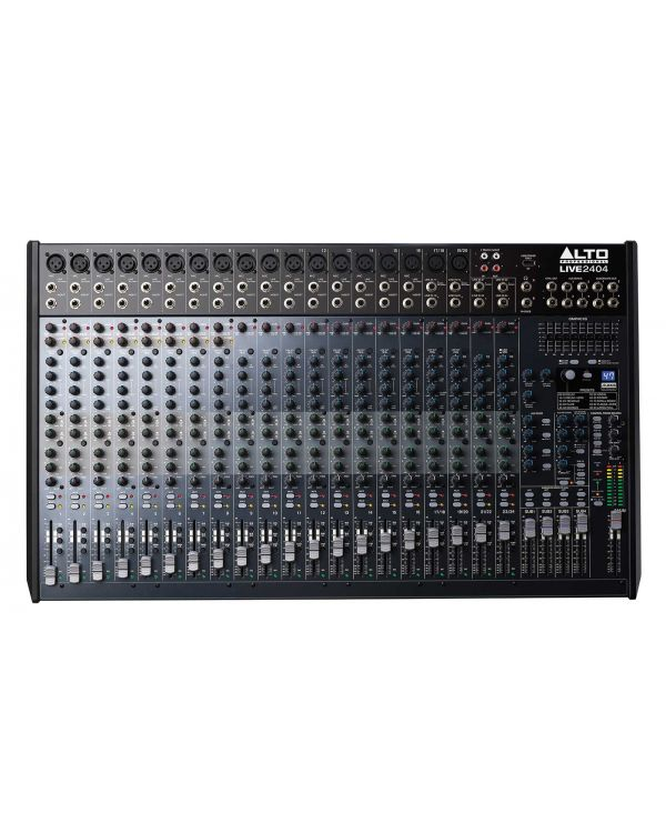 Alto Live 2404 24 Channel USB Mixing Desk