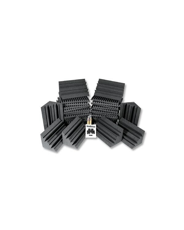 Auralex Project 2 Acoustic Foam Pack - Charcoal