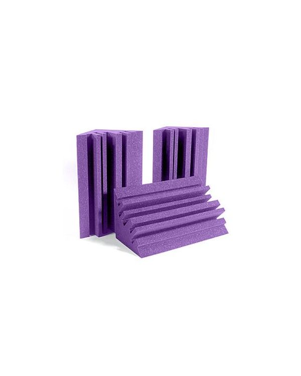 Auralex Metro LENRD Purple Acoustic Foam Bass Traps (Pack of 4)