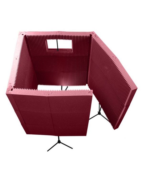 Auralex Max-Wall 1141VB Portable Vocal Booth - Burgundy