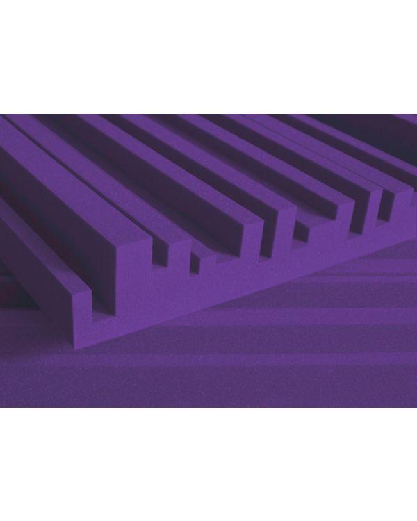 Auralex 4 Studiofoam Metro, 2 x 4 Purple Panels