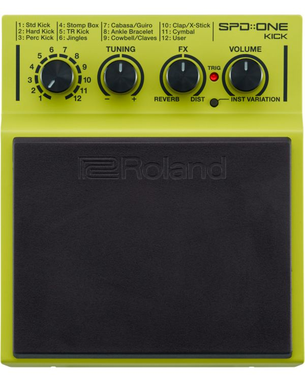 Roland SPD::One Kick Compact Percussion Pad