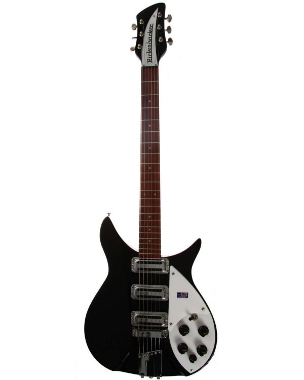 Rickenbacker 350V63 Liverpool Model Electric Guitar in Jetglo