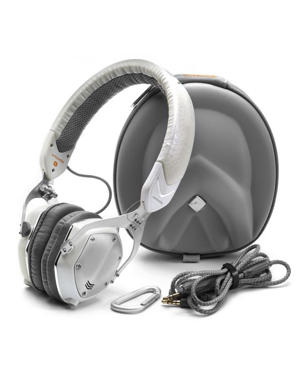 V-MODA XS-30 Headphones - White Silver