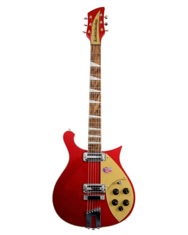 Rickenbacker 660 6 String Ruby RED
