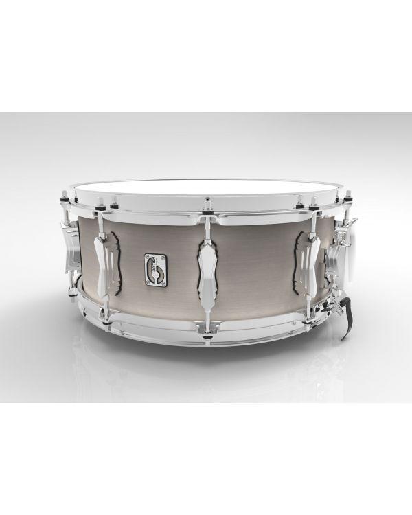 British Drum Co. 14 x 6.5 Legend Snare Drum in Whitechapel