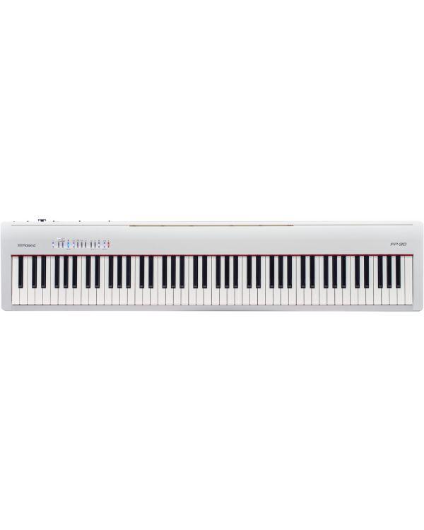 Roland FP-30 Digital Piano in White