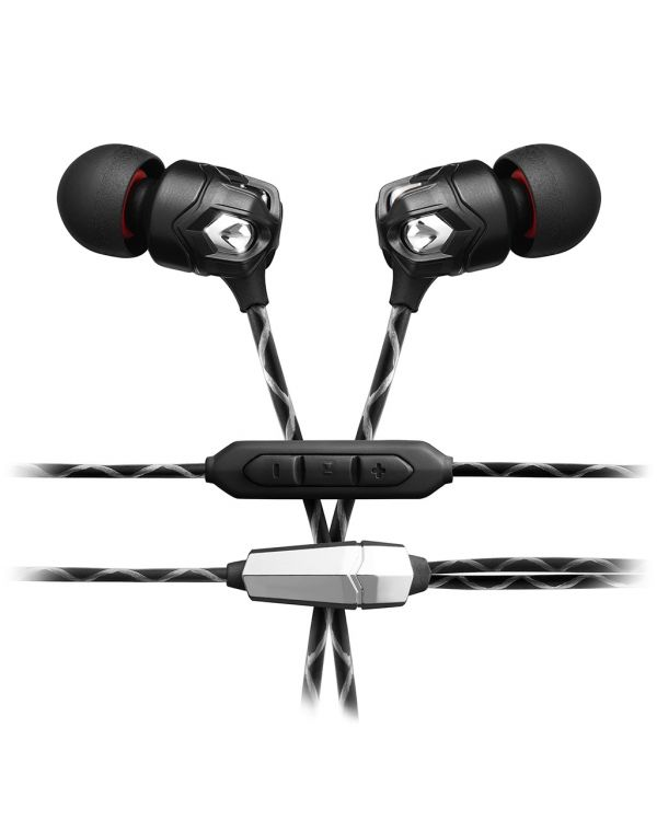 V-MODA Zn 3-Button In-Ear Headphones - Black