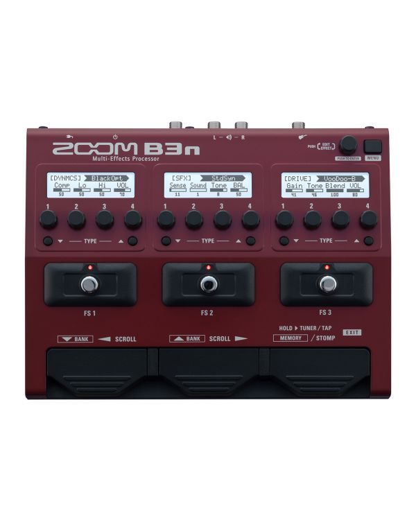 Zoom B3n Multi Effects Unit for Bass Guitar
