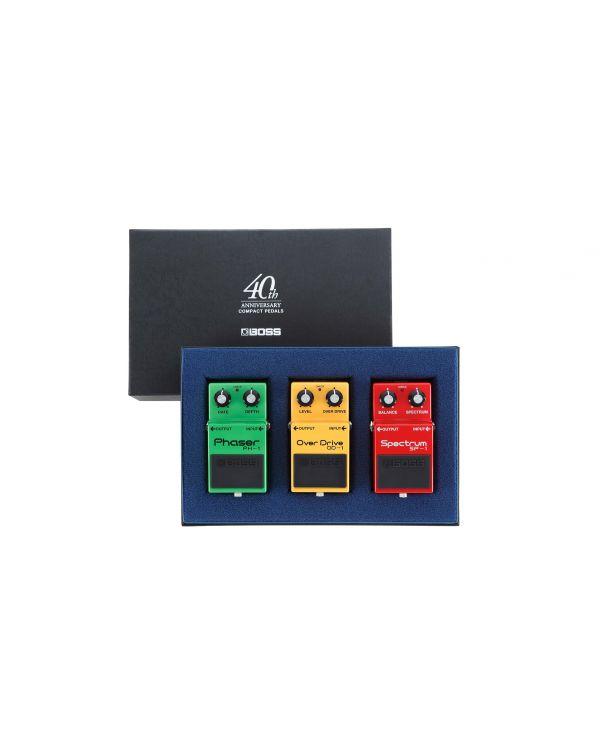 BOSS Box-40 Compact Pedal 40th Anniversary Box Set