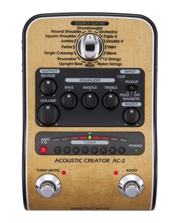 ZOOM AC2 Acoustic Creator Guitar Pedal