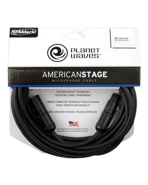 D'Addario American Stage Microphone Cable 7.5m
