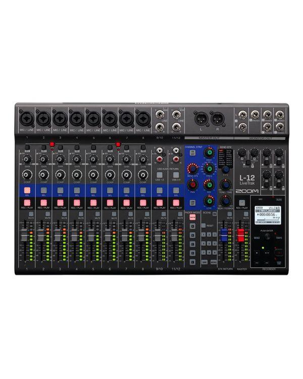 Zoom LiveTrak L-12 Live Mixing Desk