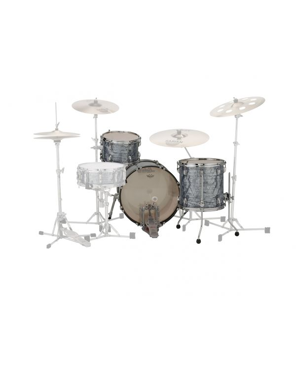Ludwig 22 Classic Maple 3-Piece FAB Shell Pack Sky Blue Pearl