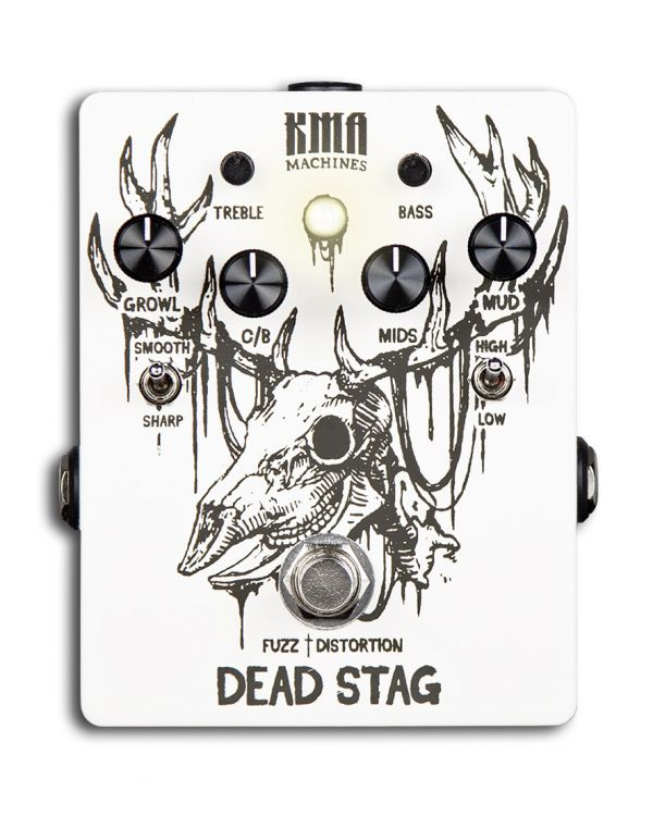 KMA Audio Machines Dead Stag Fuzz / Distortion Pedal with Active EQ