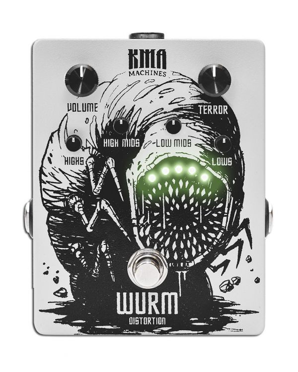 KMA Audio Machines WURM Metal Distortion Pedal with active EQ