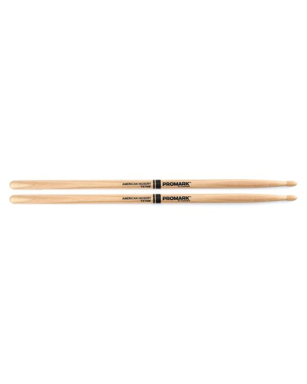 Promark Hickory 7A Wood Tip Drumstick Pair