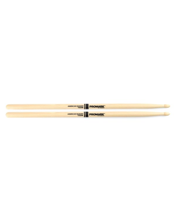 Promark Hickory 5A Wood Tip Drumstick Pair