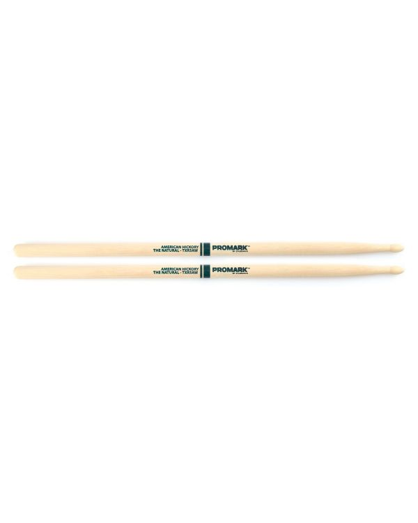 "Promark Hickory 5A ""The Natural"" Wood Tip Drumstick Pair"
