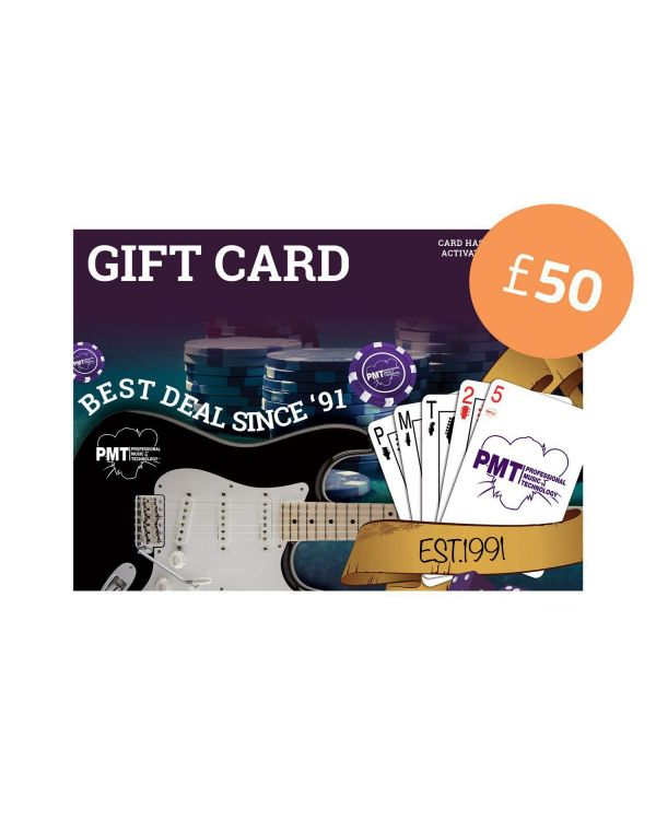 PMT Store £50 Gift Card