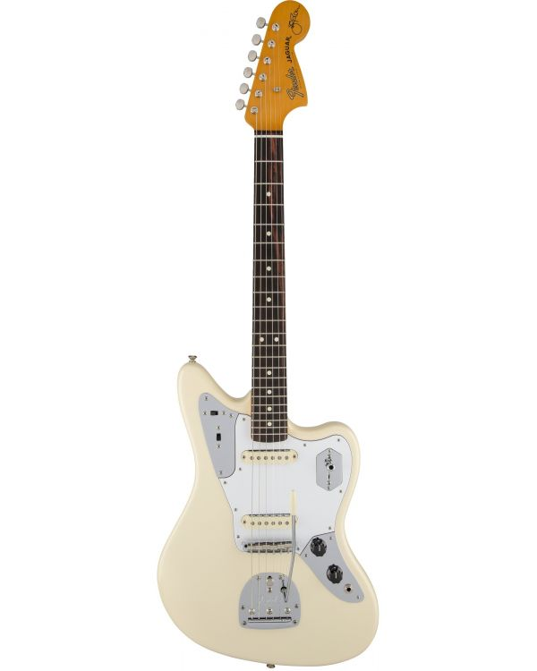 Fender Johnny Marr Signature Jaguar Electric Guitar, Olympic White
