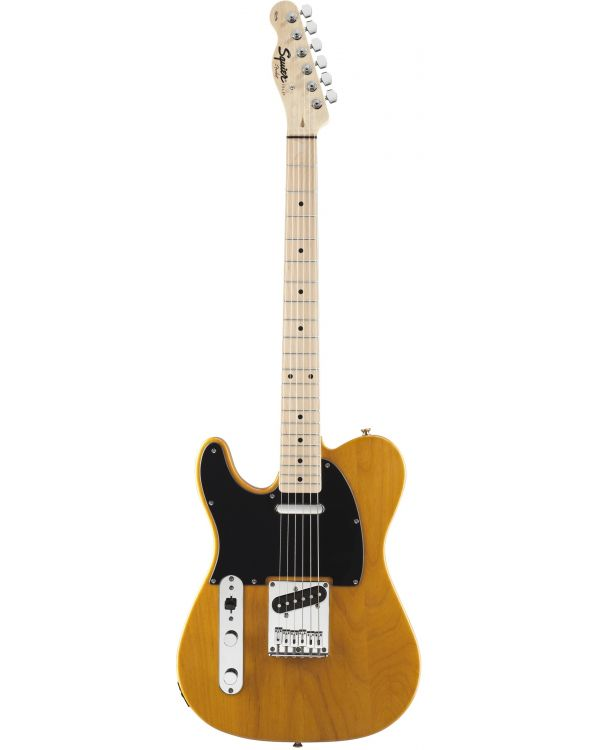 Squier Affinity Tele Left Handed Maple Fingerboard Butterscotch Blonde