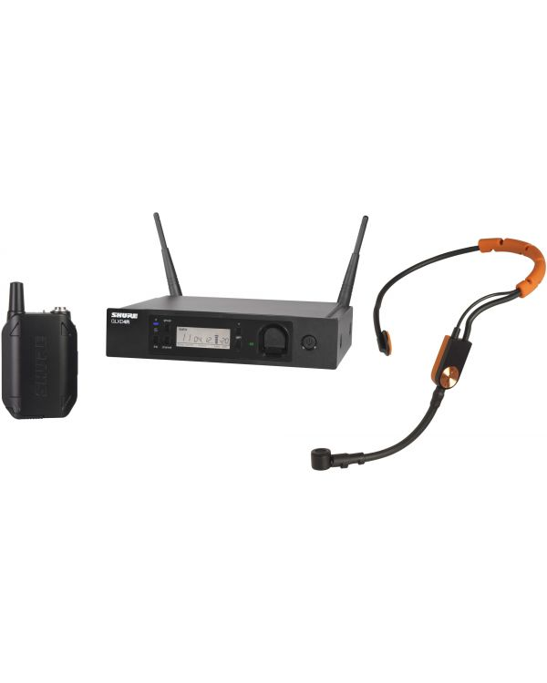 Shure GLX-D Advanced GLXD14R Wireless Headset System with SM31