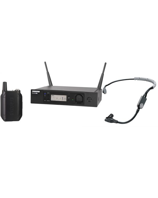 Shure GLX-D Advanced GLXD14R Wireless Headset System with SM35