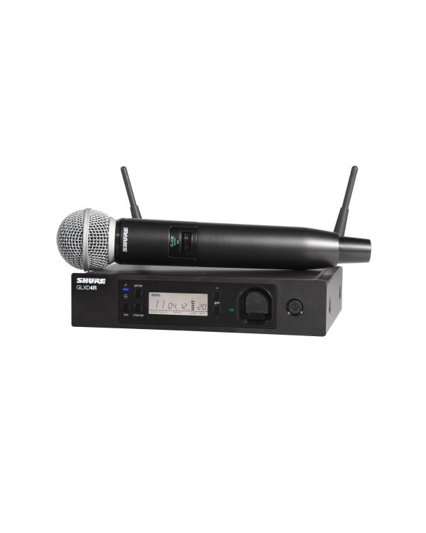 Shure GLX-D Advanced GLXD24R/SM58 Wireless Microphone System