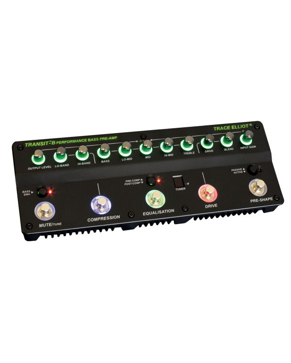 Trace Elliot Transit-B Pre-amp and Effects for Bass Guitar