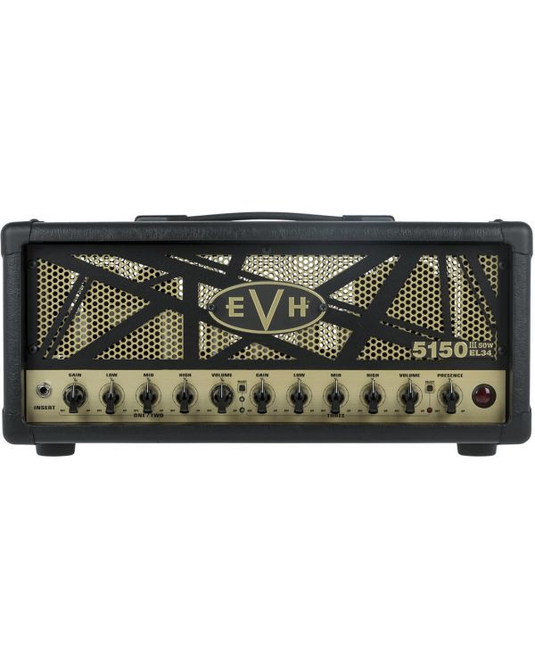 EVH 5150 III EL34 50w Eddie Van Halen Signature Amp Head