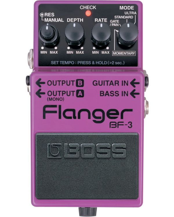 Boss BF-3 Flanger Pedal for Guitar and Bass