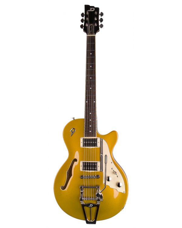 Duesenberg Starplayer TV Semi Hollow Guitar Gold Top
