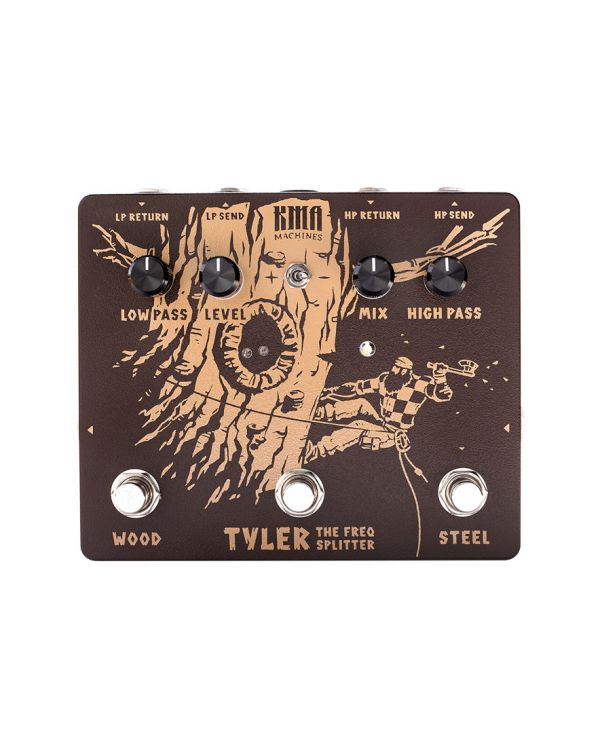 KMA Audio Machines Tyler The Freqency Splitter Effects Pedal