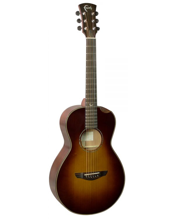 Faith FMESB45-BNC Classic Burst Mercury Parlour Electro Acoustic 45mm